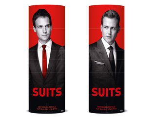 "Universal Pictures Germany U-LOVE-TV Faltsäule ""Suits"""